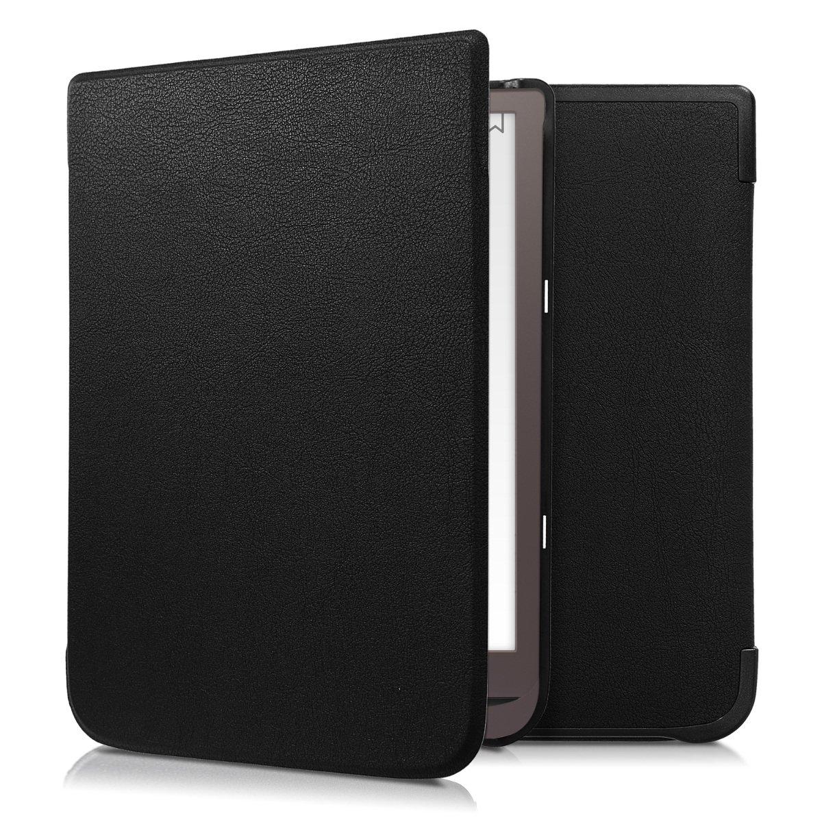 Case con dise/ño de Estrellas en la Galaxia kwmobile Funda para Pocketbook InkPad 3//3 Pro Carcasa para e-Reader de Cuero sint/ético
