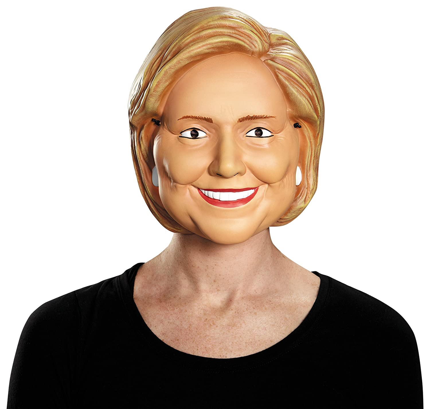 Amazon.com: Disguise Costumes Hillary Clinton Vacuform 1/2 Mask ...