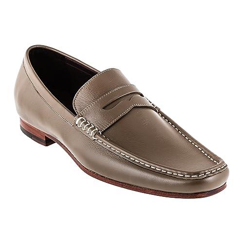 Mayo Lando 1961 - 12 Slipper Señor Guantes de piel con piel Suela, color Marrón, talla 40 UE: Amazon.es: Zapatos y complementos