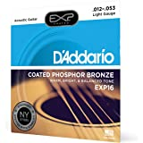 D'Addario EXP16 Coated Phosphor Bronze Acoustic Guitar Strings