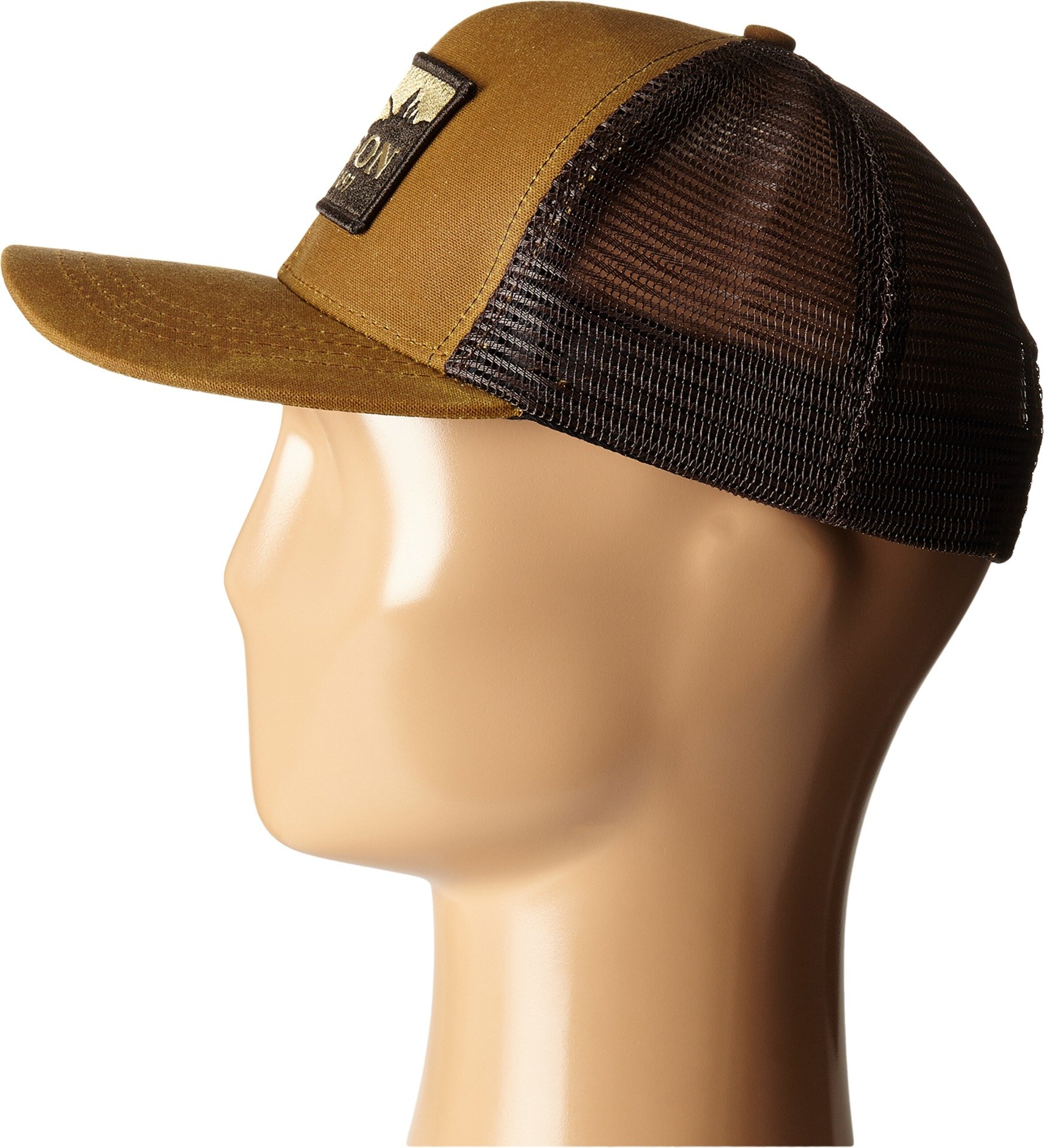 Filson Unisex Logger Mesh Cap Dark Tan Hat by Filson (Image #2)