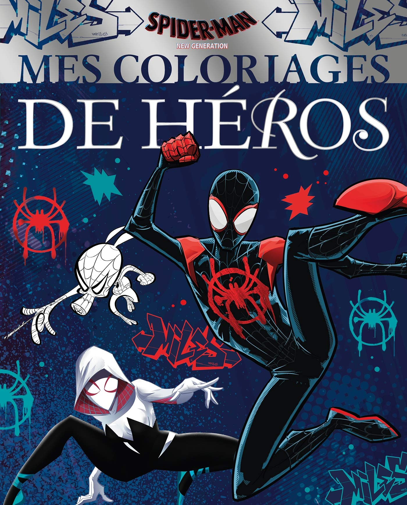 Spider Man New Generation Mes Coloriages De Heros Marvel