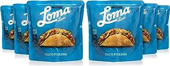 Loma Linda Blue - Vegan Meal Solution - Taco Filling (10 oz.) (Pack of 6) - Non-GMO, Gluten Free