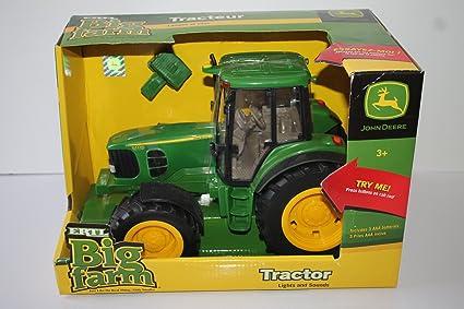 Amazon.com: John Deere Big Farm Tractor: Jardín y Exteriores