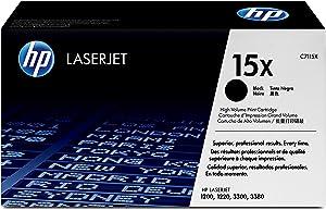 HP 15X | C7115X | Toner Cartridge | Black | High Yield