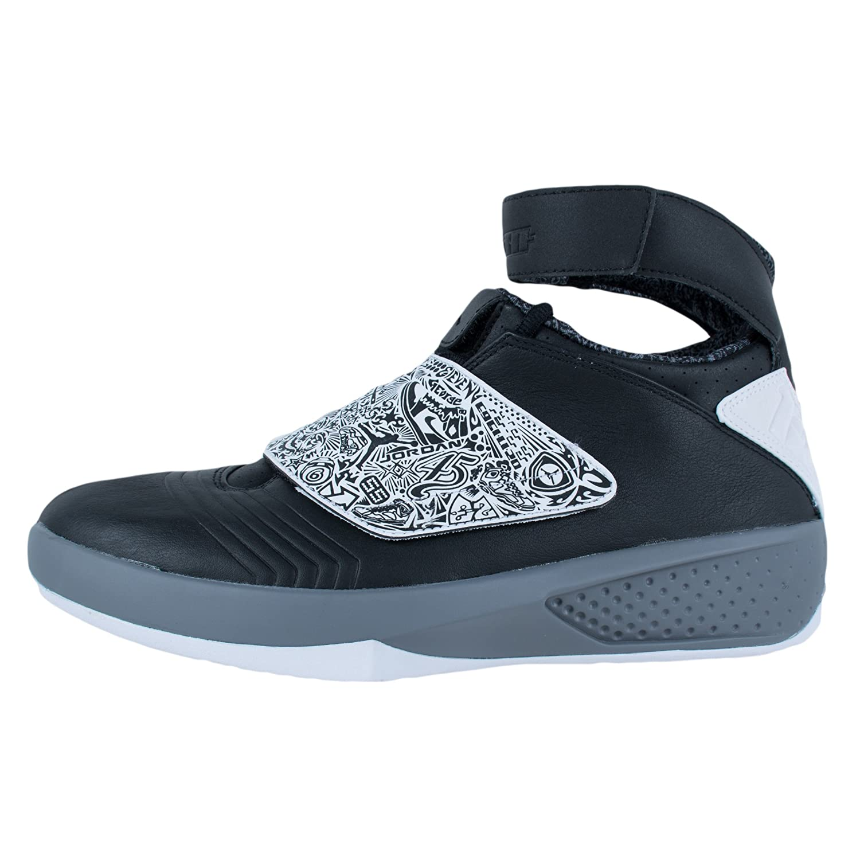 531f6eabadeb6 Nike Air Jordan XX Mens Basketball Shoes, Black/White-Cool Grey, 14 ...
