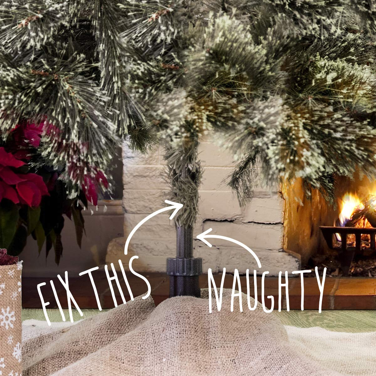 The Christmas Tree Hugger Christmas Tree Skirt Accessory Christmas Tree Collar Christmas Tree Ring Tree Box