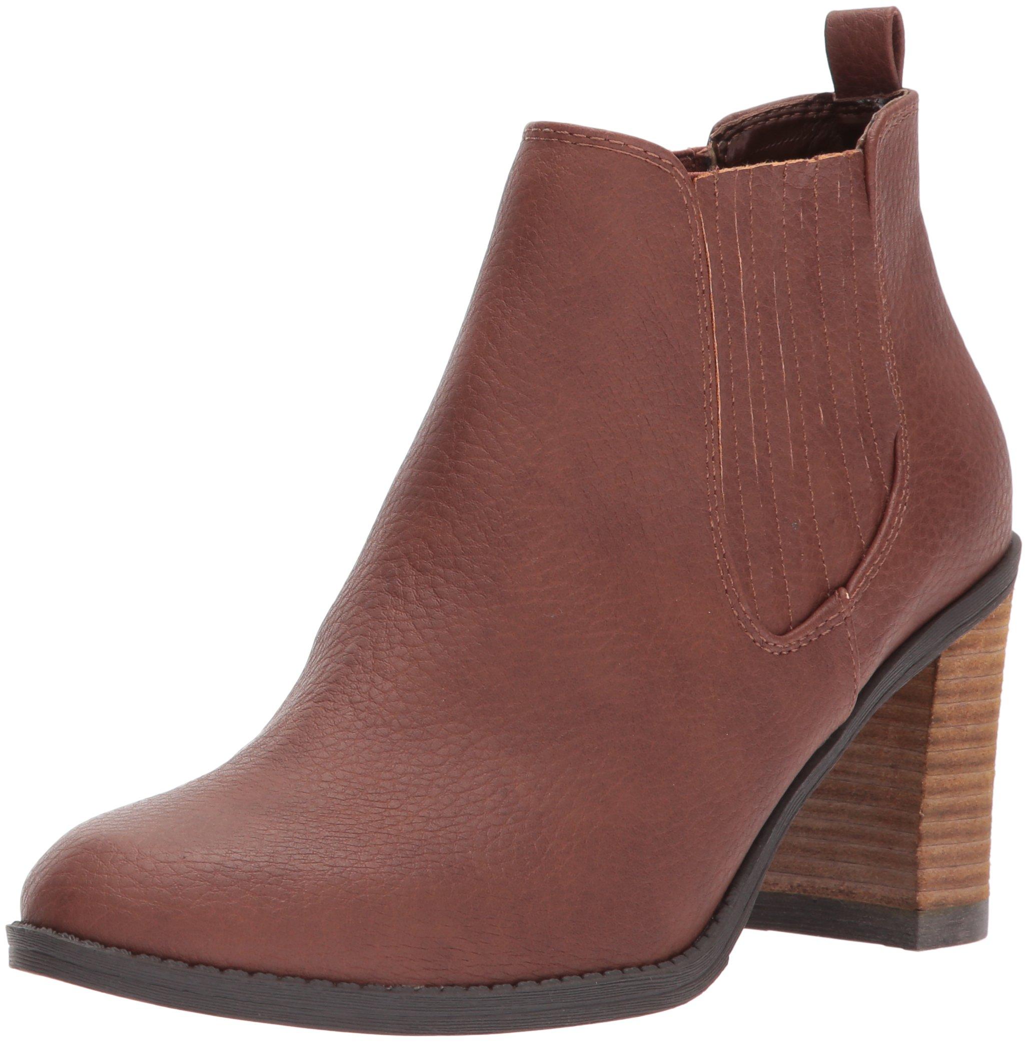 Dr. Scholl's Shoes Women's Launch Boot, Copper Brown, 6 M US