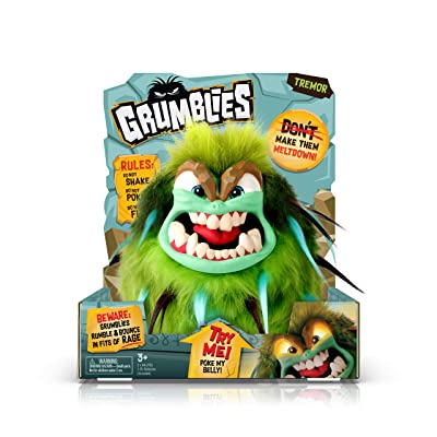 Grumblies Tremor with Light Up Eyes: Toys & Games