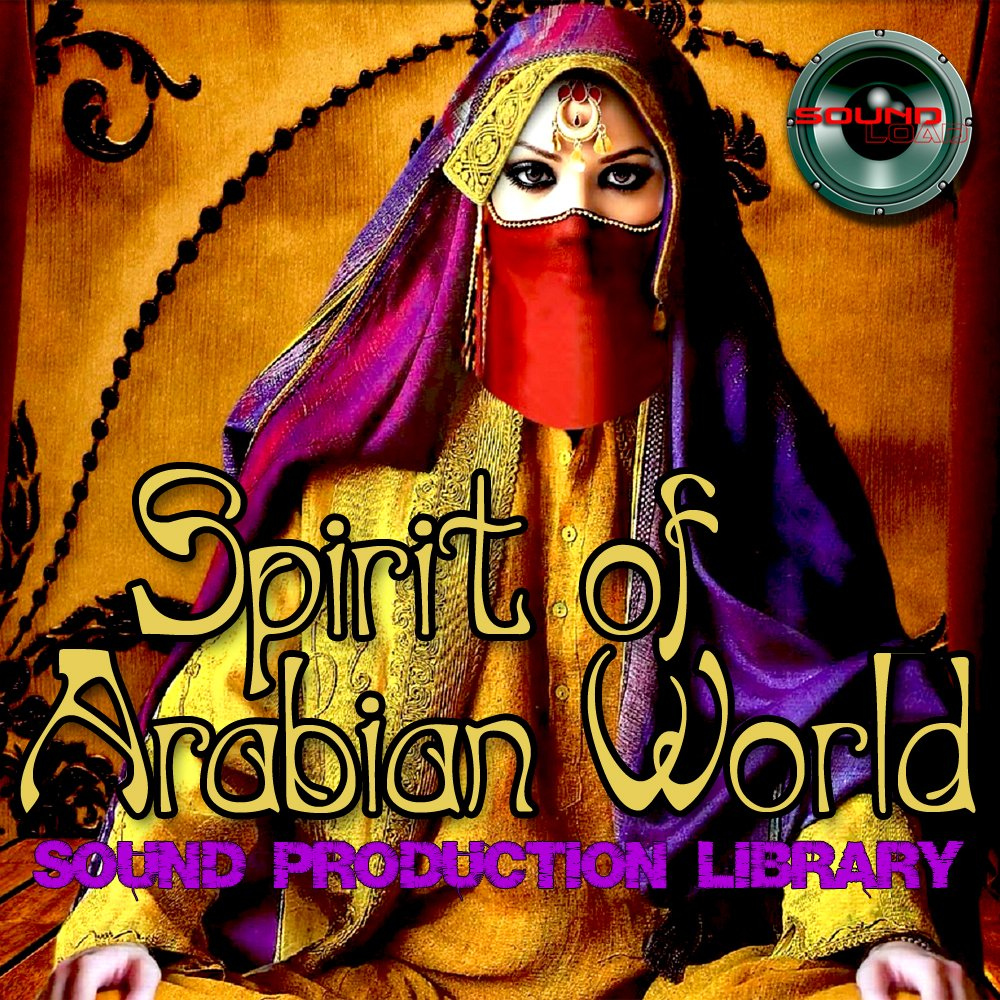 Arabian World Spirit - Large unique 24bit WAVE Multi-Layer Studio Samples Production Library. FREE USA Continental Shipping on DVD or download by SoundLoad