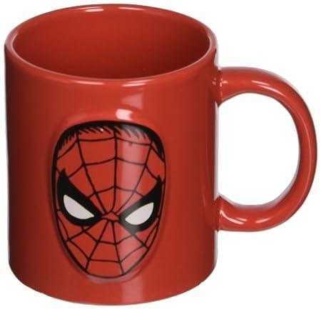 SPIDER MAN FACE LARGE CERAMIC COFFEE MUG LICENSED NEW MARVEL SUPERHERO