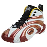 Reebok Shaqnosis OG Shoe (Big Kid),Black/Nuclear Yellow/Excellent Red/White,6.5 M US Big Kid