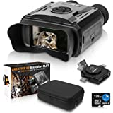 CREATIVE XP Elite Digital Night Vision Binoculars for Adults – Infrared Night Vision Goggles for Hunting, Spy, Military & Tac
