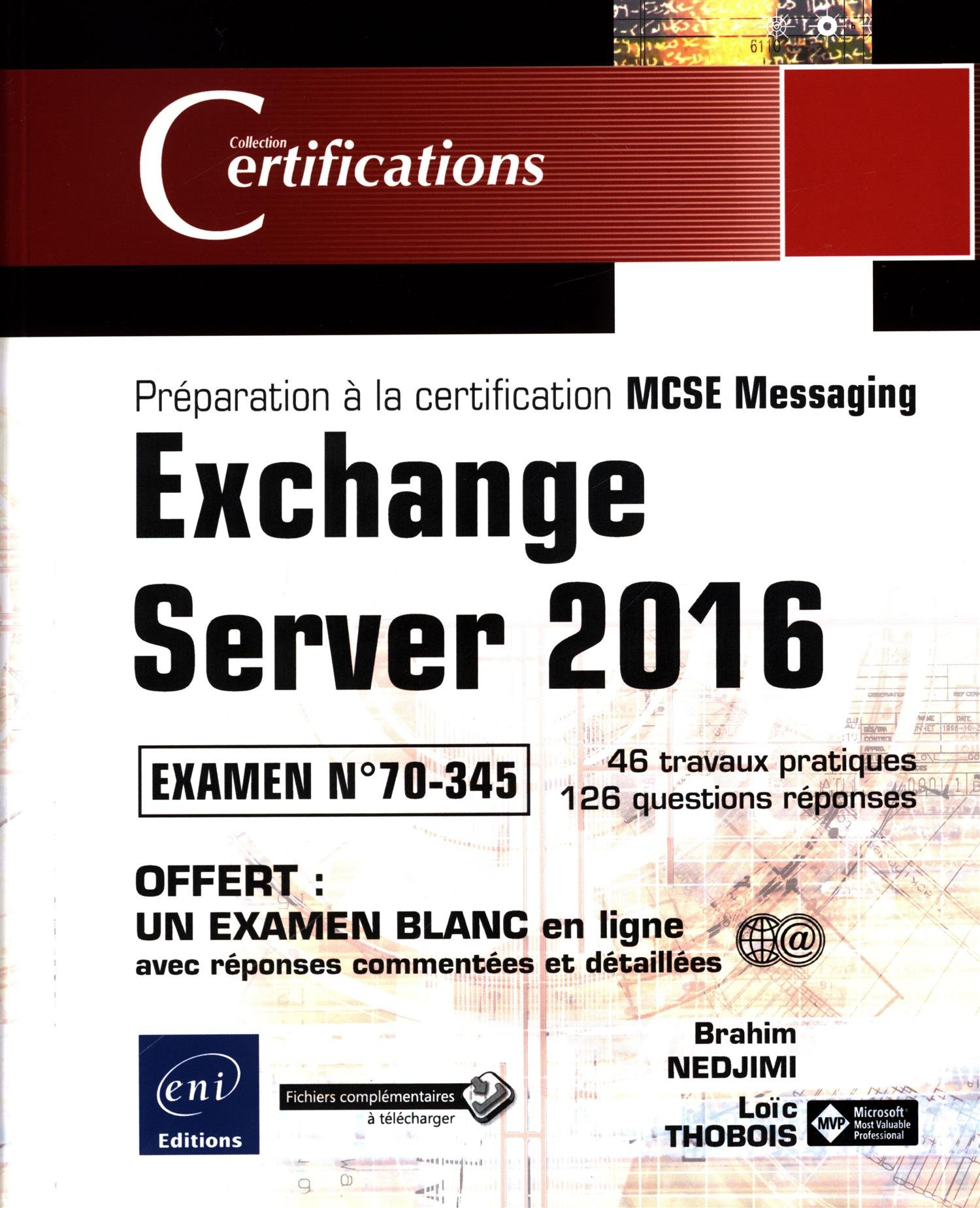 Exchange Server 2016 Prparation La Certification Mcse Messa