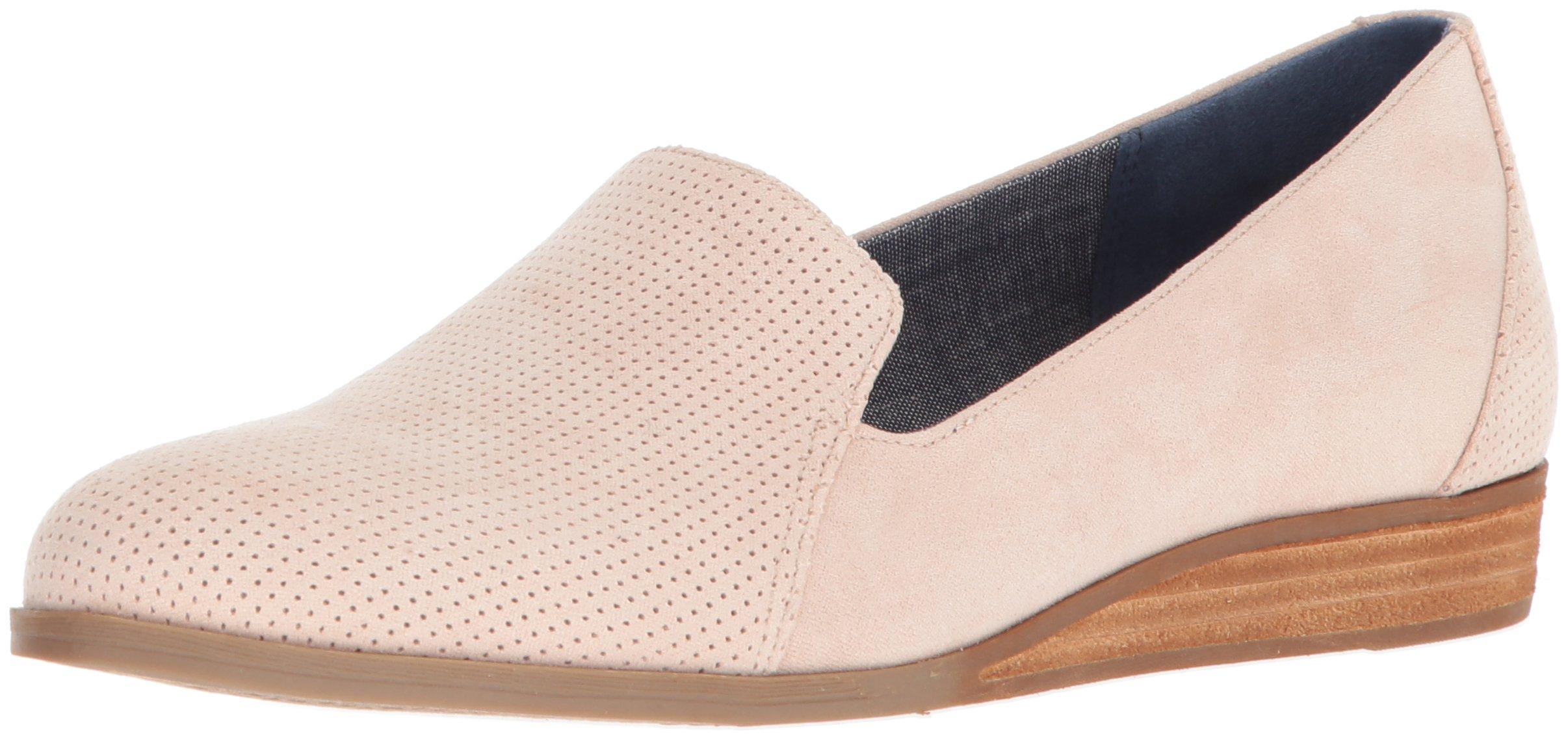 Dr. Scholl's Shoes Women's Dawned Loafer, Blush Microfiber, 8.5 M US