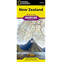 New Zealand (National Geographic Adventure Map, 3500)