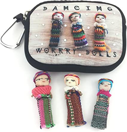 New Worry Dolls Pouch and Doll for Boys