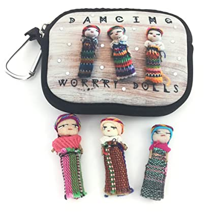 New Worry Dolls Girl Love Worries