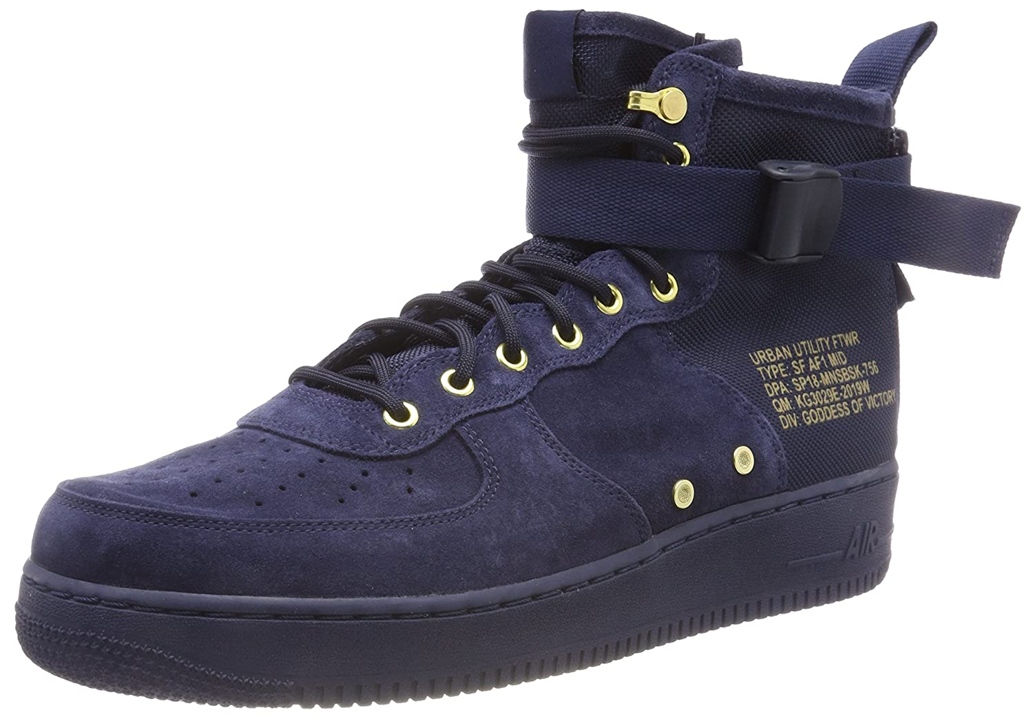 Nike SF Air Force 1 Mid Men's Basketball Shoes 917753 400