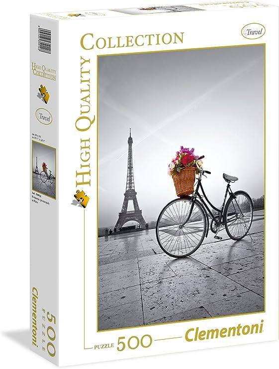 Clementoni - Puzzle de 500 Piezas, diseño Paseo romantico en Paris ...