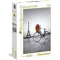 Clementoni 35014 Romantic Promenade In Paris 500 Parça Puzzle