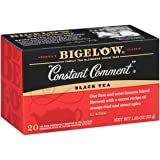 Bigelow Constant Comment Tea 20-Count Boxes (Pack of 6), 120 Tea Bags Total.  Caffeinated Individual Black Tea Bags, for Hot Tea or Iced Tea, Drink Plain or Sweetened with Honey or Sugar