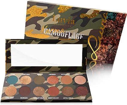 Luvia Cosmetics Sombras de palé – karmaflage Make Up – Incluye 12 provokanten Colores Edición – En Caja De Regalo: Amazon.es: Belleza