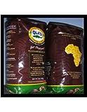 Ola's Exotic Super Premium Coffee Organic Fair-Trade Ethiopia AA Whole Bean Coffee, 32-Ounce Bag