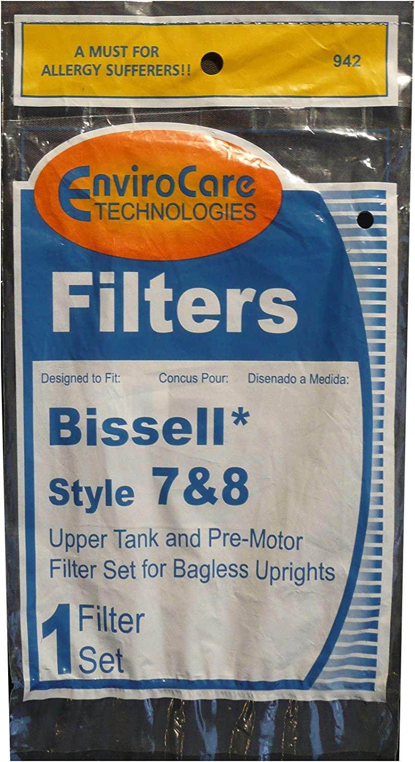 Bissell Vacuum style 7//8//14 Foam Filter Kit part 3093