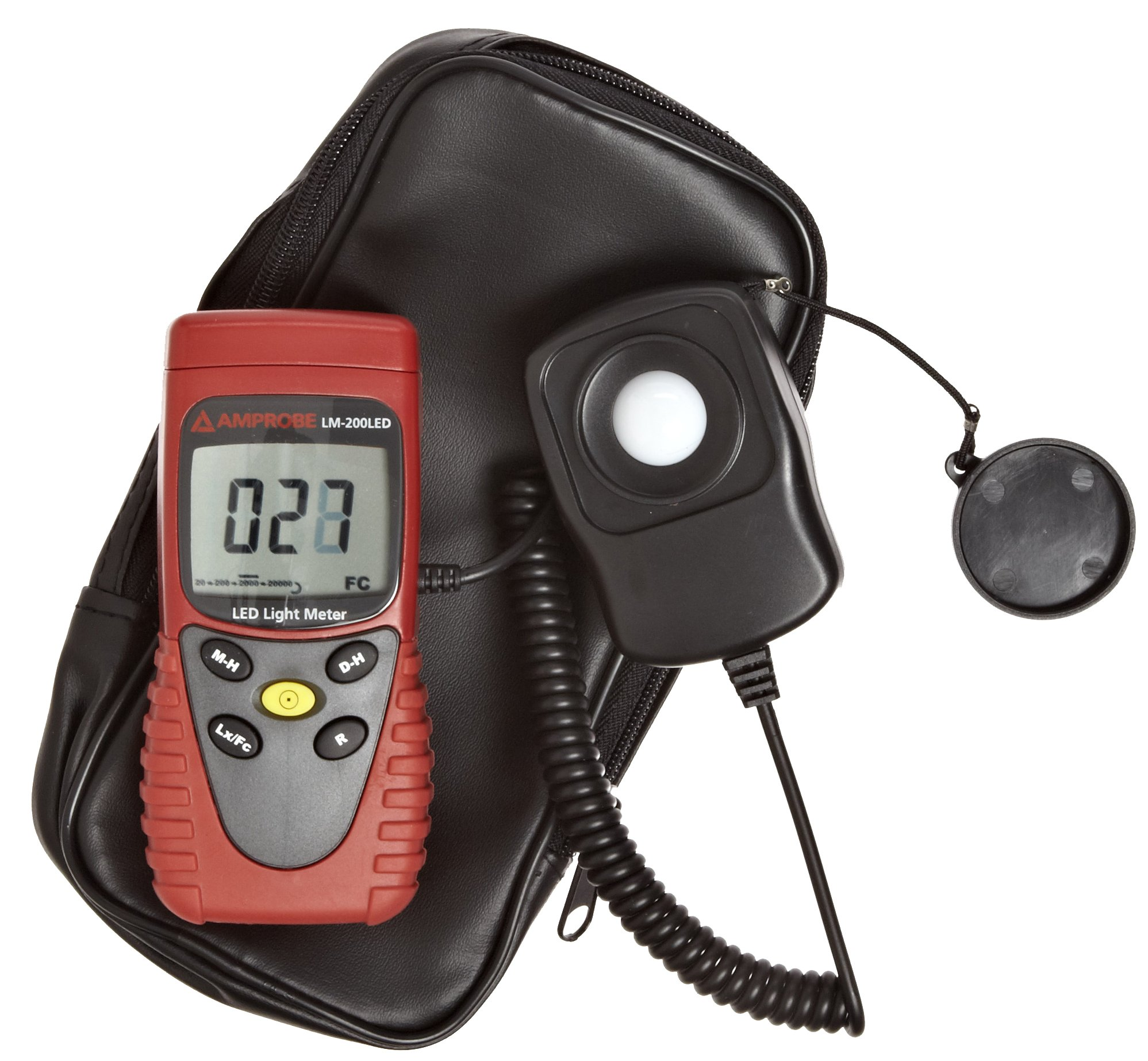 Amprobe LM-200 LED Light Meter, Silicon Photodiode and Filter by Amprobe