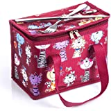 TEAMOOK Lunch Bag Insulated Lunch Box for kids and adults 1pcs Red Cat