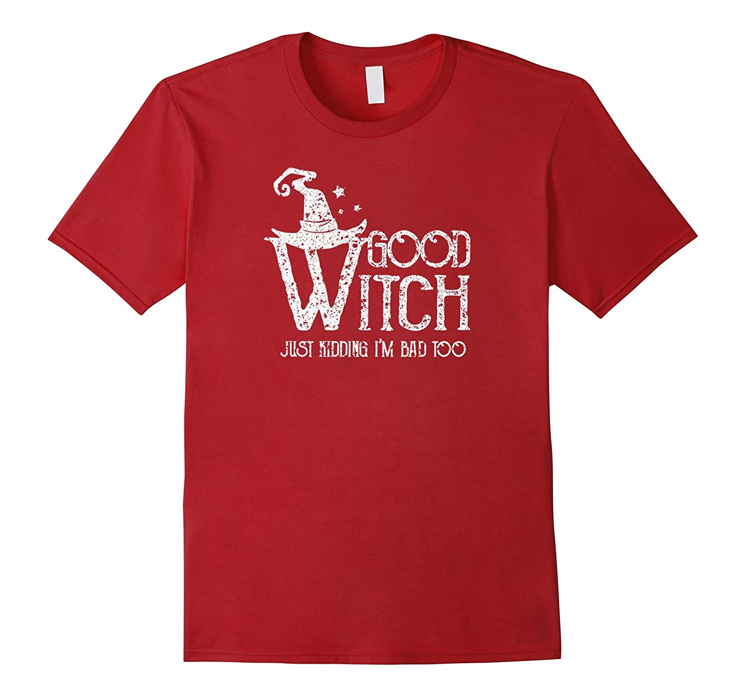 Bad Witch TShirt Good Magical Spells Couples Tee-TJ