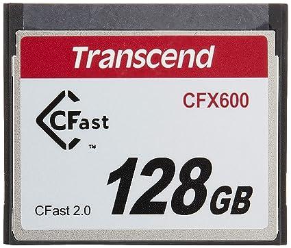 Transcend TS128GCFX600 - Tarjeta de Memoria CFast , 128 GB, Mb/s