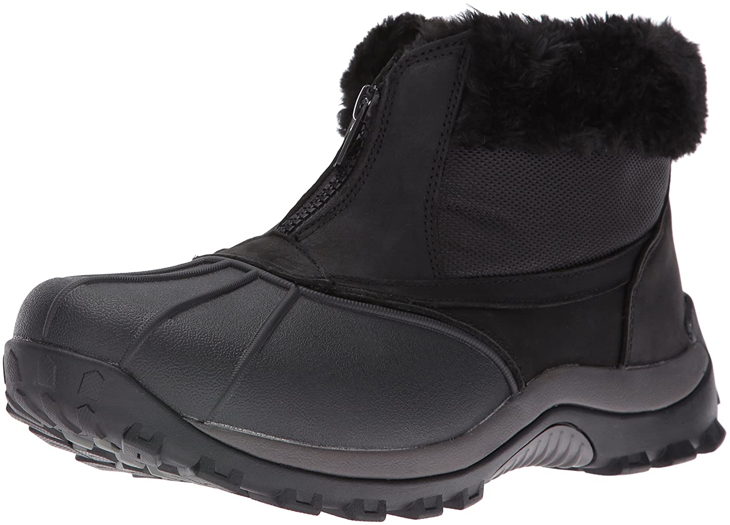 Propet Women's Blizzard Ankle Zip Ii Winter Boot B01AYP4SBC 6 2E US|Black/Nylon
