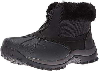 a5ebc07f45d59c Propet Women s Blizzard Ankle Zip Ii Winter Boot Black Nylon 6 ...