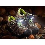 Night Trek Shoe Lights – As Seen on Shark Tank for Hiking, Camping, Hunting, Fishing, Running and Dog Walking