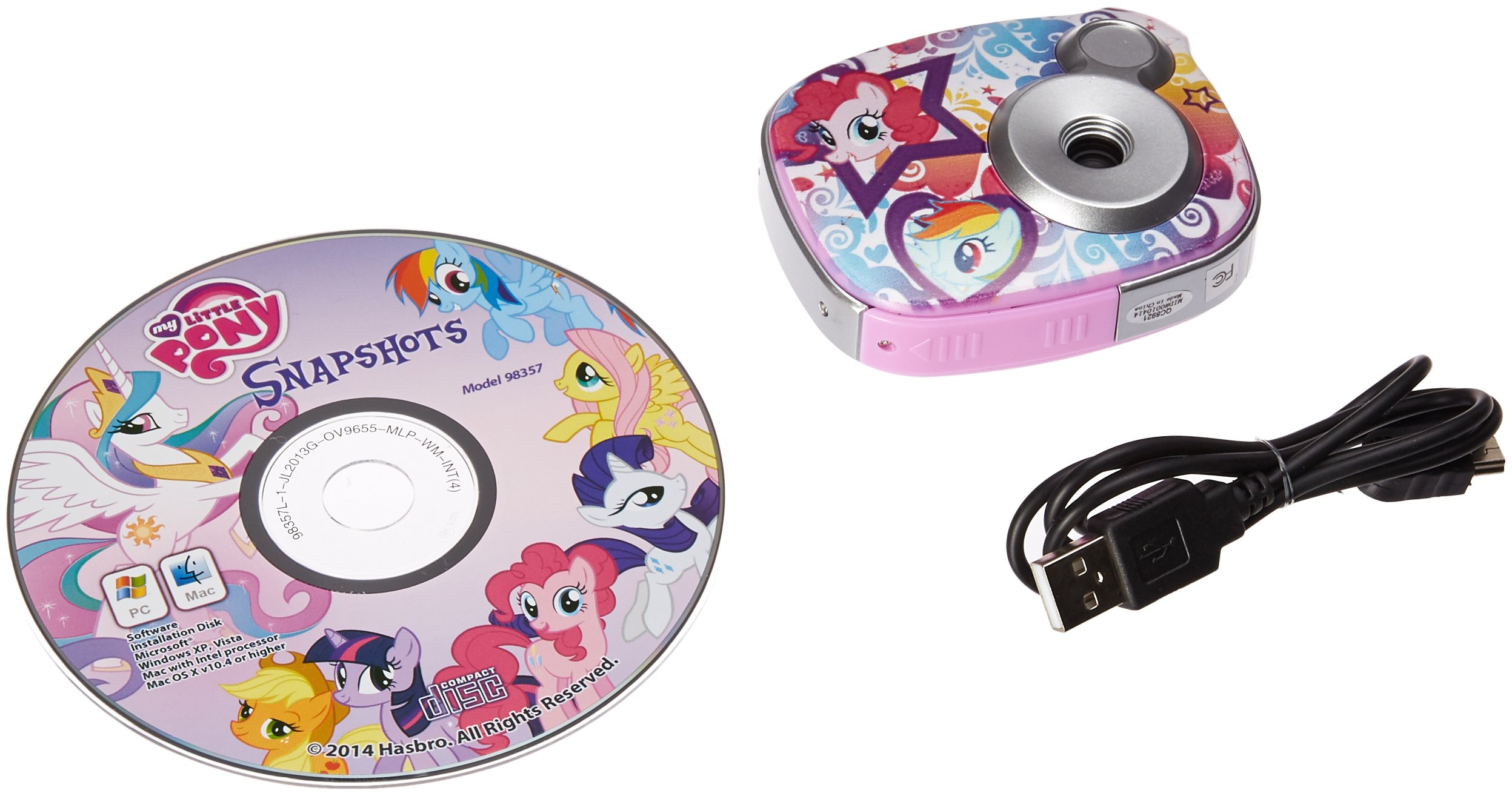 My Little Pony 2.1 MP Digital Camera Ages 5 Plus