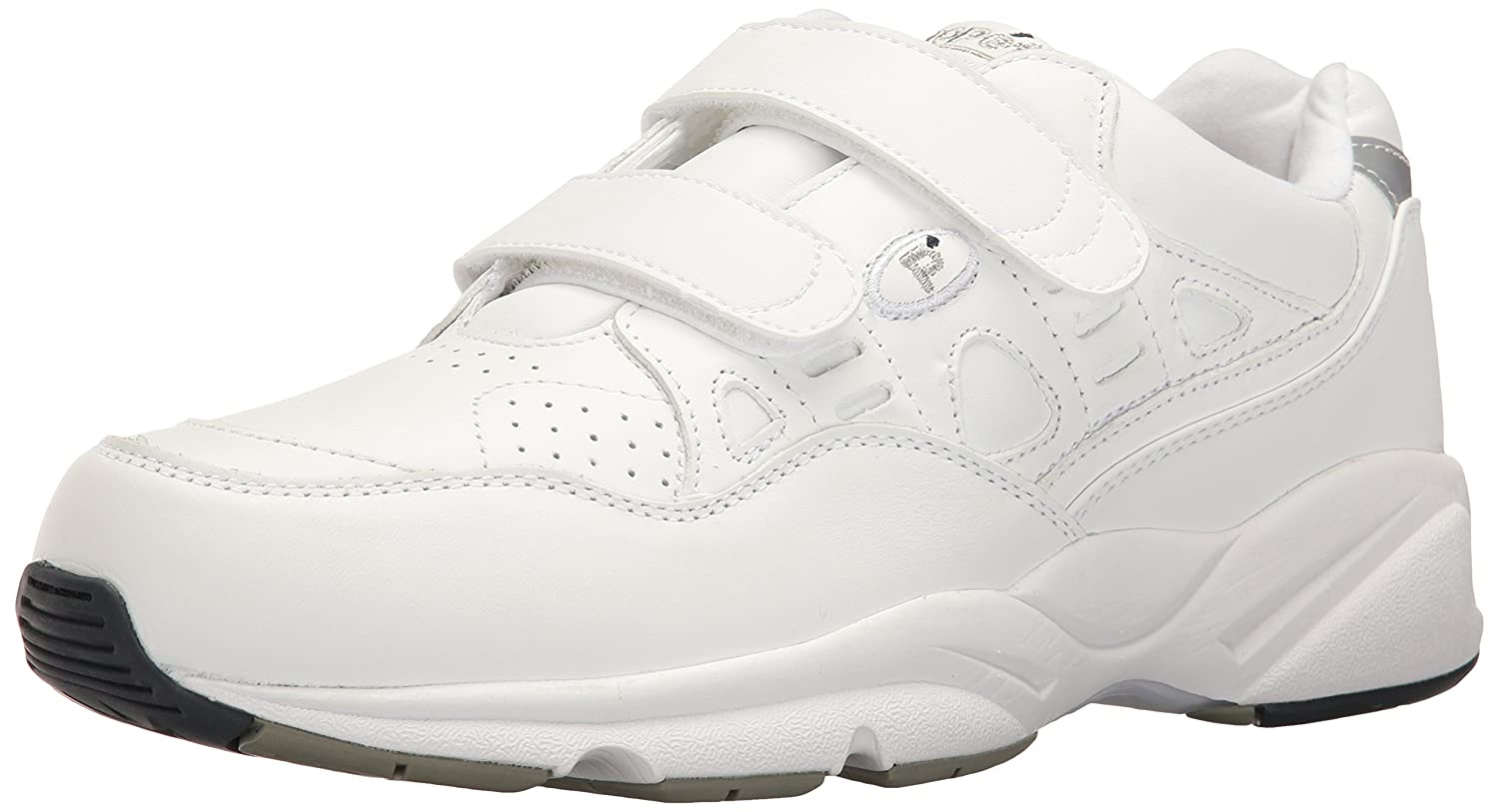 Propet Women's Stability Walker Strap Walking Shoe B000P4LZL4 10 2E US|White