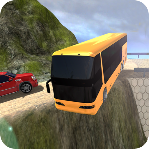 Offroad Bus Simulation Tourist Smart Service Free Game 2019 : offroad Transit coach bus driver mountain tourist bus hill Climber sim pro drift hero uphill driving simulation station rush russian free games extreme suv uphill tracks crash fury