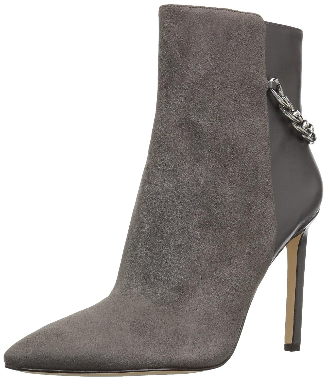 Nine West Women's Tyronah Suede Ankle Boot B01N0KTV8E 8.5 B(M) US|Dark Grey
