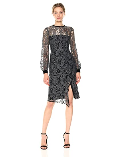 245bbacb Nanette Lepore Women's Amelia Lace Dress: Amazon.in: Clothing ...