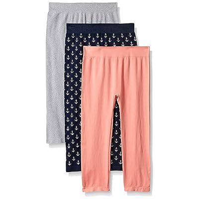 WallFlower Women's Favorite 3 Piece Pack Capri Length Legging