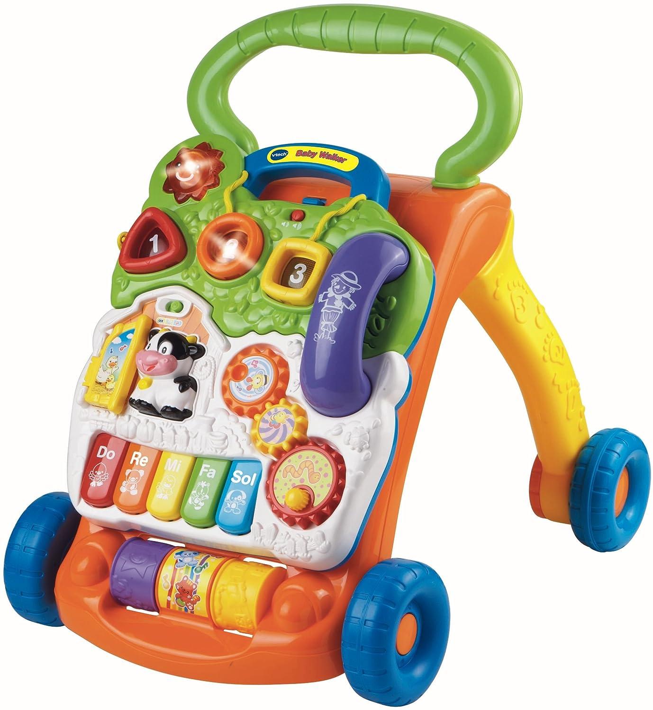 VTech Baby - Correpasillos andandín 2 en 1, Multicolor, versión benelux
