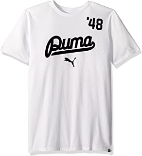 5560a8a0b9927 Amazon.com: PUMA 575177-01 Men COOGI AOP TEE White: PUMA: Sports ...