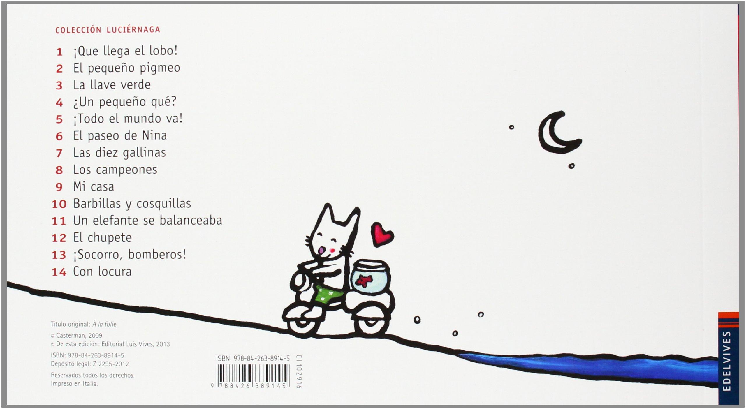 Con Locura (Luciérnaga) (Spanish Edition): Emilie Jadoul ...