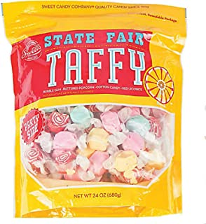 product image for Sweet's Tasty Salt Water Taffy, Assortment Flavors 24 Ounce (State Fair)