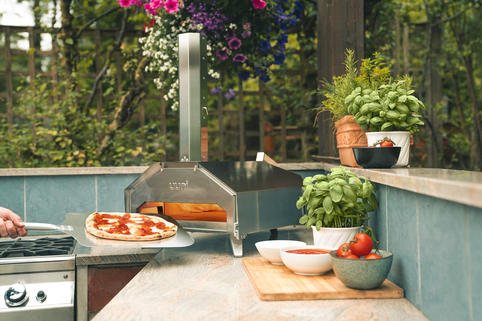 Uuni Pro Multi-Fueled Outdoor Pizza Oven by Ooni (Image #3)