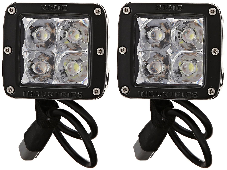 Rigid Industries 20221EM E-Mark Dually Spot Light, Set of 2