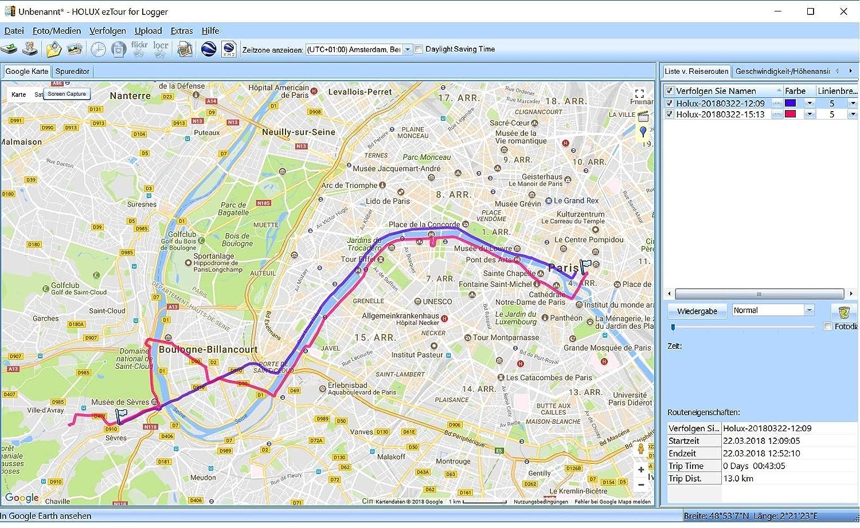 Set 3 Holux RCV-3000GL Galileo versione esclusiva Bluetooth GNSS Data Logger per 3 sistemi satellitari GPS GLONASS