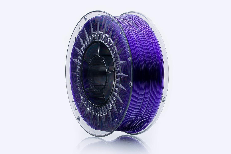 Print-Me 5906190617064Filament pour imprimante 3d Swift Pet-G 1,75mm 1kg, violet Glass
